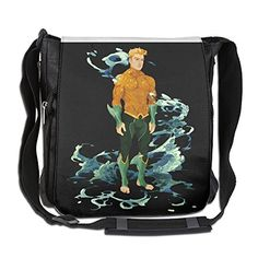 BakeOnion Aquaman Poster Messenger Bag Traveling Briefcase Shoulder Bag For Adult Travel And Business Trip *** Details can be found by clicking on the image.