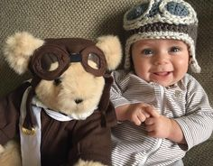 First teddy, forever friend! #NewBaby #BabyGift #TeddyBear #VermontTeddyBear Vermont Teddy Bears, 3 Bears, Unique Baby Gifts, Teddybear, Cute Baby Pictures, Friends Forever, Baby Love, Little Ones, Cute Babies