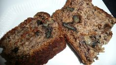 My new Banana Bread Recipe..very healthy and VERY awesome :)   (No eggs, oil, soy or dairy)