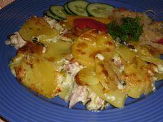 Potato Dishes, Potato Salad, Potatoes, Chicken, Ethnic Recipes, Food, Diet, Potato, Essen