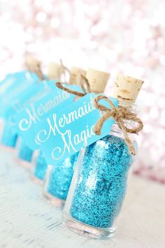 Mermaid Party Favor - Mermaid Birthday Party - Mermaid Party Supplies - Mermaid Party - Mermaid Gift for Little Girls - Under the Sea Party More