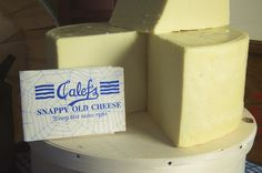 Snappy Old Cheese from Calef's
