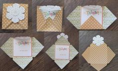 card and envelope all in one