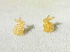 Check out this item in my Etsy shop https://www.etsy.com/uk/listing/510181258/rabbit-stud-earrings-rabbit-lover-gift