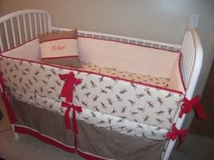 Red Cream Sock Monkey Baby Boy or Girl neutral by abusymother, $229.99