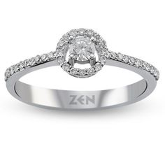 Diamond solitaire engagement ring by Zen Diamond Solitaire Engagement, Bling Bling, Zen, Glamour, Diamond, Jewelry, Fashion, Jewellery Making, Jewlery