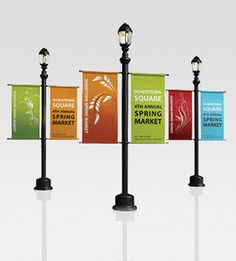 Show details for Light Pole Banners