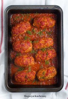 Gourmet Recipes, Dinner Recipes, Healthy Recipes, Cabbage Rolls Polish, Good Food, Yummy Food, Kielbasa, Recipes From Heaven, Chili Con Carne