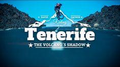 "David Cachon: ""Tenerife: La sombra del volcán"" Mountain Bike Action, Mountain Biking, Tenerife, Mtb, Planets, David, Movies, Movie Posters, Canary Islands"