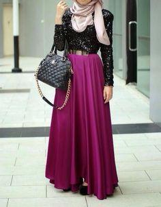 hijab, style, and hijabi image