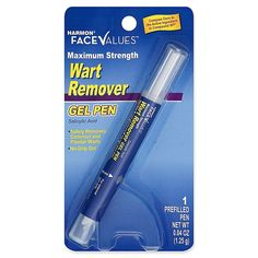 Treat common and plantar warts safely at home with the Harmon Face Values Wart Remover Gel Pen, a salicylic acid formula in a no-drip prefilled pen that makes precise application a breeze. Facial Warts, Warts On Face, Toenail Fungus Treatment, Wart On Finger, Toe Fungus, Fungus Toenails, Polysorbate 80, Hydroponics System