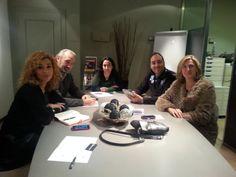 Primera reunión para la puesta en marcha de acciones para la recaudación de fondos en #Bilbao para #StopSanfilippo