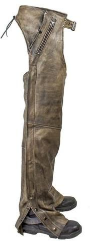 Leather Chaps for Men brown