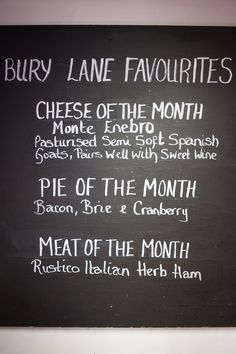 Monthly Bury Lane Favourites on the Deli Sweet Wine, Farm Shop, Bury, Deli, Herbs, Food, Meal, Eten, Herb