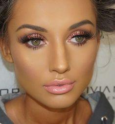 Everyday Smokey Eye Makeup Miladies net tips p Eye Makeup Art, Eye Makeup Tips, Face Makeup, Tan Skin Makeup, Edgy Makeup, Makeup Box, Makeup Trends, Makeup Ideas, Pretty Makeup