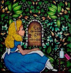 ideas for painted door secret gardens Secret Garden Door, Garden Doors, Lost Ocean, Adult Coloring, Coloring Books, Enchanted, Johanna Basford Secret Garden, Secret Garden Coloring Book, Painted Doors