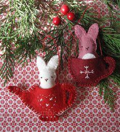 Christmas Felt Ornament - sweet :)