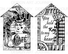 Houses: Cafe & Key