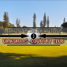 """Umkomaas Golf Club, the 18-hole course was originally created in 1926 but was re-designed by Robert """"Bob"""" Grimsdell in 1932. The course follows the natural contours of the land and is a little hilly although easily walked. The club does hire golf carts for those who'd prefer to zoot around.… The post Umkomaas Golf Club appeared first on Zest Holidays. Halfway House, Natural Contour, Holiday Accommodation, Local Attractions, Adventure Activities, Golf Carts, Club, Holidays, Contours"""