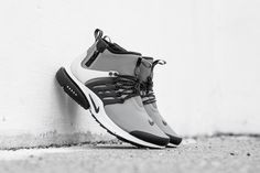 "Nike Air Presto Mid Utility ""Cool Grey"" (Detailed Pictures) - EU Kicks Sneaker Magazine"