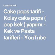 Cake pops tarifi - Kolay cake pops ( pop kek ) yapımı - Kek ve Pasta tarifleri - YouTube