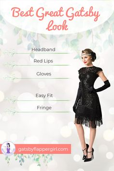 Gatsby Attire for Women. Get the best Great Gatsby Dress to party like Gatsby! Great Gatsby Makeup, Great Gatsby Outfits, Great Gatsby Party Dress, Gatsby Themed Party, Party Outfits For Women, 1920s Outfits, Great Gatsby Fashion, Club Outfits, Retro Fashion