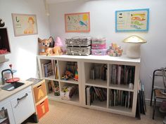 pte pimprenelle blog, kids room, shelves
