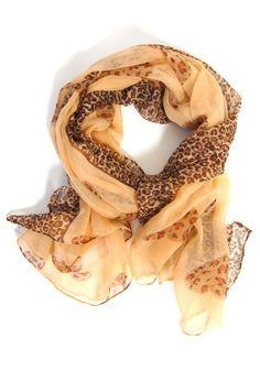 pretty leopard scarf