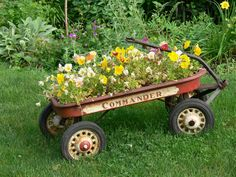 Flower Pot Wagon | Flickr - Photo Sharing!