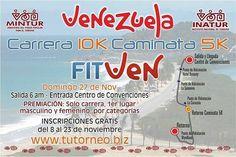 @Regrann from @margaritaturismo -  Los invitamos a participar en la Carrera 10K Caminata 5K actividad deportiva - recreativa dirigida a toda la familia en el marco de la Feria Internacional de Turismo #fitven2016  Inscripción GRATUITA a través de: www.tutorneo.biz - #regrann