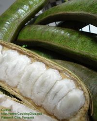 guaba, best fruit ever!!! Got it in Costa Rica, and fell in love. Unfortunately, I can't find it anywhere