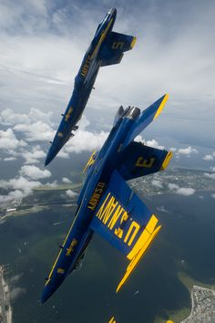 Two Of The Blue Angels