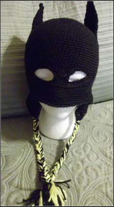 Crochet batman hat the batman bane mask styled crochet beanie crocheted batman hat with earflaps dt1010fo