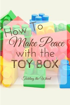 When your urge to micromanage the toy box sets in, take control and make peace with the toys. I use these 7 steps to reduce the clutter and manage the toys.