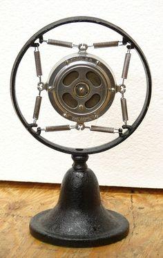 Vintage Shure Bros Microphone Model 5B, C1920s