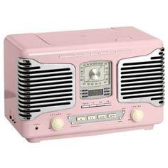 Tivoli Model One Radio from MoMA Design Store. Shop more products from MoMA Design Store on Wanelo. Vintage Love, Vintage Pink, Vintage Items, Vintage Gothic, Vintage Stuff, Tvs, Televisions, Pink Radio, Poste Radio
