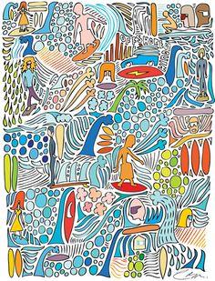 multicolour surf