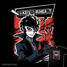 Phantom Thieves | Shirtoid #gaming #persona5 #teegketchen #teeketch #videogame