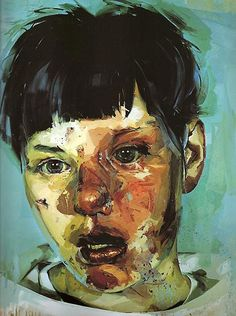 Manic Street Preachers - Journal for Plague Lovers from the 2005 painting Stare by Jenny Saville; Sainsbury, Britain's main supermarket chain, ridiculously refused to carry the album unless it was shipped in a plain slipcover Jenny Saville, Figure Painting, Painting & Drawing, Life Drawing, L'art Du Portrait, A Level Art, Figurative Art, Cover Art, Cd Cover