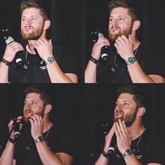 He really loves his hiatus beard and grows it so he doesn't look like Dean while he's not filming. #supernatural #spnfandom #jensenackles