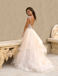 Lovely IN STORE Eve of Milady Boutique Collection Style Glamorous Wedding DressesBridal