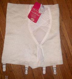 Vintage retro My Fair Lady girdle XL 31/32 Pucker knit NOS with tag/no tag #MyFairLady #Girdle #Everyday