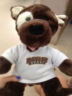 Build A Bear is now Baylor proud!