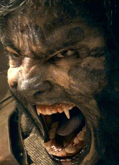 "Lawrence Talbot played by Benicio Del Toro in the 2010 film remake ""The Wolfman."""