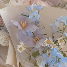 Baby Blue Aesthetic, Spring Aesthetic, Nature Aesthetic, Flower Aesthetic, My Flower, Beautiful Flowers, Pretty Pictures, Aesthetic Wallpapers, Planting Flowers