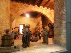 AGRUPACIÓN DE PESEBRISTAS DE CASTELLTERÇOL: Exposición de dioramas Navidad 2014