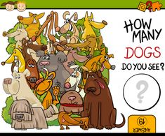 How many dogs can you find? Try out this free brain game today! #braingames #freeeducationalgames #freegames #freeworksheets