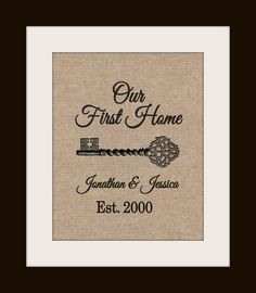 Our First Home Coordinates Sign Personalized Housewarming Gift Laude Longitude For Newlyweds House Warming