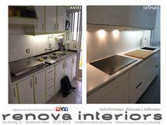 E&E. Cocina + lavadero http://www.renovainteriors.com/blog/reforma-ee/