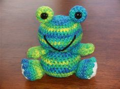 Amigurumi Happy Frog FREE Crochet Pattern